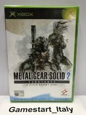METAL GEAR SOLID 2 SUBSTANCE (XBOX) VIDEOGIOCO NUOVO SIGILLATO - NEW SEALED PAL