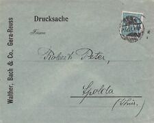 Brief aus Gera nach Apolda 1921