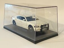 2006 Dodge Charger Police Pursuit White 1/24 Welly HTF