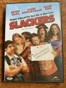 Slackers DVD 2001 Teen Comedy Movie w/ Jason Schwartzman + Devon Sawa Region 1