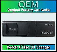 Becker BE2660 CD changer with Cartridge,  Silverstone 6Disc CD player + Magazine