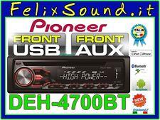PIONEER DEH-4700BT  SINTO/CD/MP3/USB/BT + AUX