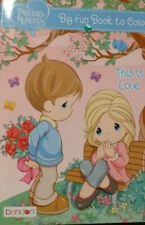 Precious Moments Big Fun Book to Color ~ This Is Love Paperback - Good