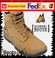 NEW Mongrel Work Boots Safety/Steel-Toe Cap Lace-up Athletic 260050 ON SALE