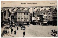 CPA 29 - MORLAIX (Finistère) - 149. Place de Viarmes - ND Phot (petite animation