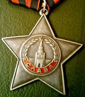 VINTAGE RUSSIAN SOVIET  ORDER OF GLORY MEDAL 3RD CLASS GENUINE