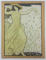 JUGEND German Art Nouveau Magazine GERMELA RISS DIEZ EICHLER FELDBAUER WALTHER