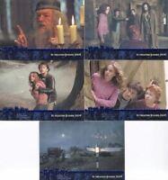 Harry Potter and the Prisoner of Azkaban Blue Foil Promo Card Set 5 Cards