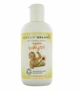 BENTLEY ORGANIC Aceite de Bebé Con Girasol, Jojoba Y Manzanilla 250ml