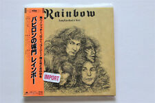 Rainbow Long Live Rock 'n' Roll 2006 Japan Import CD with Obi Dio Blackmore