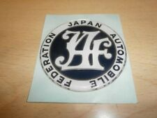 JDM Japanese Car Inspection JAF sticker Automobile Federation Rare JAPAN F/S