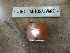LEXUS LS400 THEFT WARNING CONTROL MODULE RELAY ECU 89730-50040