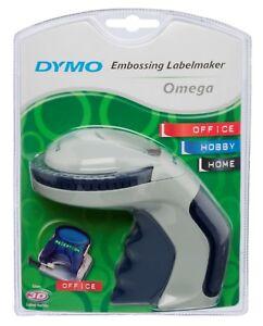 DYMO Omega Präge Beschriftungsgerät Label Gerät Schriftband Prägeband 9 mm NEU !
