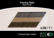 Framing Nails – 34 Degree - Bright - Ring Shank - Box: 3000 - Size: 75 x 3.05mm