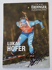 Lukas Hofer Italien Biathlon Original AK