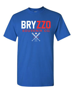 BRYZZO Souvenir Company Bryant Rizzo Chicago Cubs Baseball Men's Tee Shirt 1499