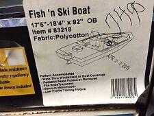 "TAYLOR MADE FISH 'N SKI OUTBOARD BOAT COVER,17'5""-18'4 ""L, 92"" BEAM, POLY/COTTON"