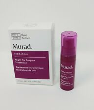 Murad Night Fix Enzyme Treatment .17 oz / 5 mL Travel Size Mini FREE SHIPPING