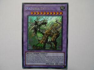Naturia Exterio * Secret Rare HA04 * Yu-gi-oh