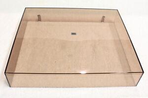PHILIPS GA222 Polished Original Dustcover-Vintage Turntable