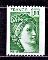 TIMBRE FRANCE  N° 1981A  SABINE ROULETTE   NEUF SANS CHARNIERE