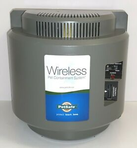 Pet Safe Wireless Fence Containment System Base Only ~ 300-034 ~ No Ac Adapter