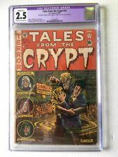 Tales from the Crypt 24 CGC 2.5 Restored EC Comics Feldstein Pre Code Horror Key