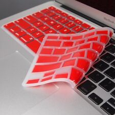RED Keyboard Cover Skin Protector for Macbook Air 13