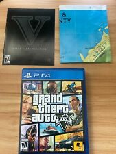 Grand Theft Auto V - Complete with Map - Adult Owned (Sony PlayStation 4, 2015)