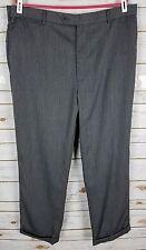 Brooks Brothers 1818 Madison 100% Wool Gray Dress Pant Sz 40 x 29