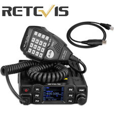 Retevis RT95 Dual Band TFT LCD Display 200CH 25W Mobile Car Radio&1p USB Cable