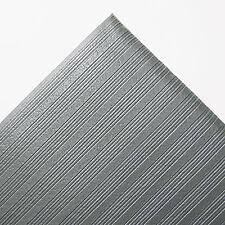 Crown Ribbed Anti-Fatigue Mat Vinyl 36 x 60 Gray FL3660GY