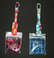 BINGO Designer 2 Pack Magnetic Wands and 100 Chips each color Red Blue