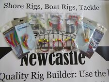 Sea fishing Boat Pack - 6 Boat Rigs - 4 Packs of feathers - Quality Boat Tackle