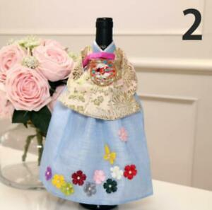Hanbok-shaped wine cover interior props box gift wrapping