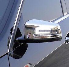 MERCEDES W218 CLS 10-14 ENJOLIVEURS CHROME CACHES COQUES RETROVISEURS 63 AMG V8