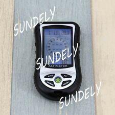Digital LCD 8 In 1 Compass Barometer Altimeter Thermo Temperature Clock Calendar