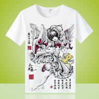 Anime Card Captor KINOMOTO SAKURA Unisex Otaku T-shirt Tops Short Sleeve Tee