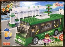 BanBao 8768 Bus Station Building Block Set 372pcs