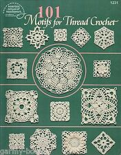 101 Motifs for Thread Crochet Instruction Pattern Book ASN #1231 1996