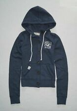 New Hollister Women's Graphic Buttons Hoodie Size XS, Small