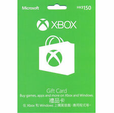 Xbox Prepaid Card HKD$150 (For Hong Kong Xbox Live Only)