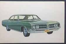 1968 BUICK LE SABRE promotional postcard  Finn Buick, Long Branch, NJ own one???