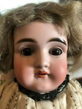 """17"""" Kestner Doll With Open Mouth/Teeth, Original Kid Leather & Fabric Body"""
