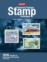 2019 Scott Standard Postage Stamp Catalogue - Volume 1 (US & A-B)