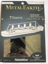 Metal Earth Titanic 3D Laser Cut Model Kit Silver Edition New