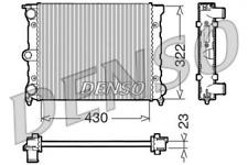 DENSO Kühler, Motorkühlung für Kühlung DRM32022