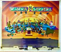 Hanna Barbera Cel Original Production A Yabba Dabba Doo 50th Celebration Cell