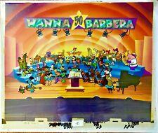 Hanna Barbera Cel Original Production A Yabba Dabba Doo 50th Celebration Cell