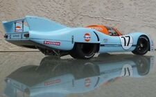 Porsche GT 1 911 Exotic Sport Car Race Concept Vintage 18 Carrera Carousel Blue